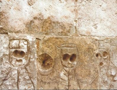 Prières des murs. Graffiti anciens (verso)