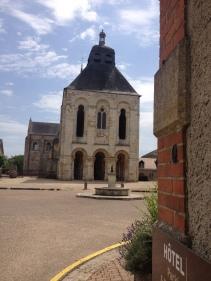 Abbaye de Fleury (cliché A. Bohu)
