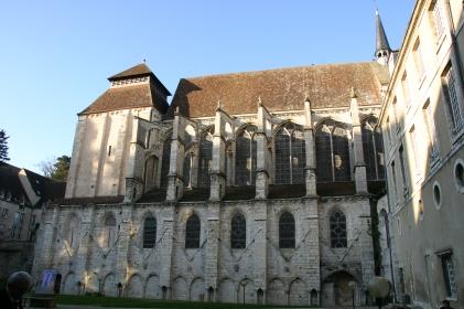 Abbaye de Saint-Père en Vallée (cliché A. Bohu)